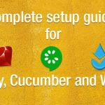 Set up Cucumber, Ruby and Waitr on Windows