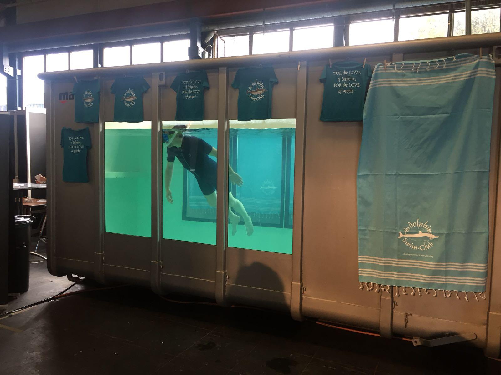 Dolphin Swim Club at VR Days 2017