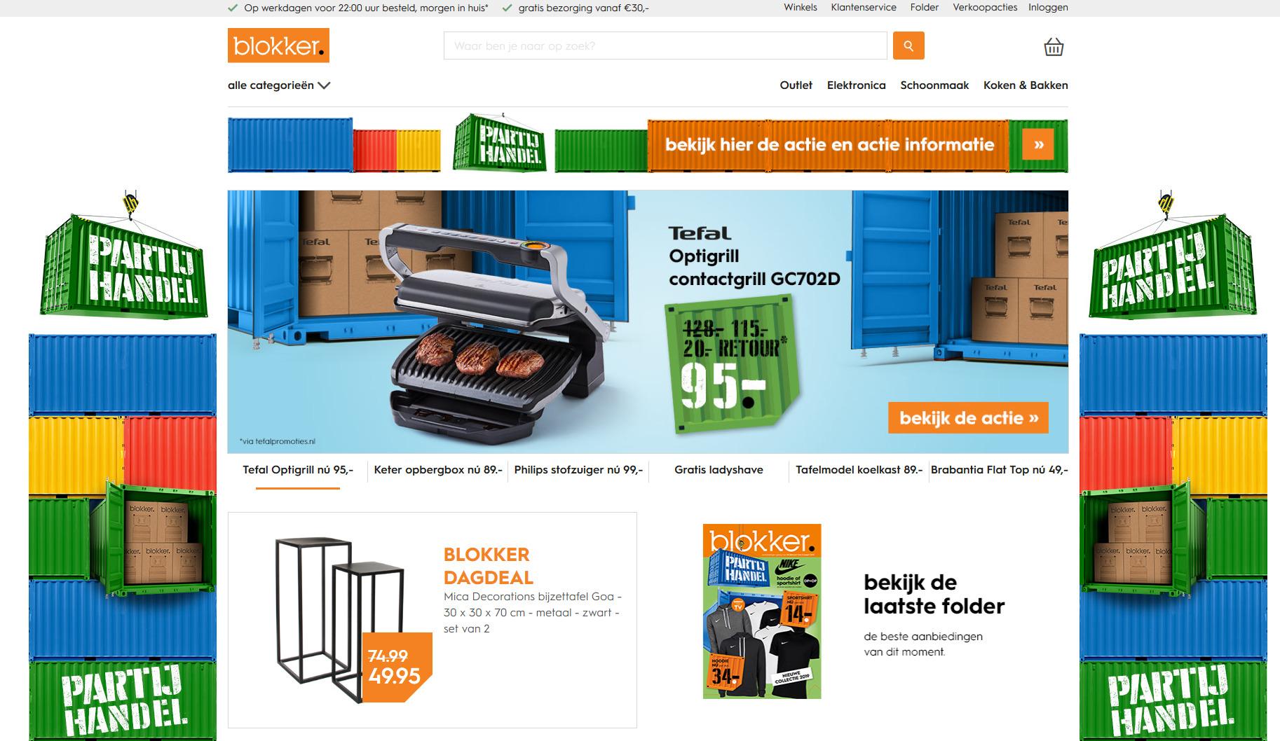 Blokker webshop
