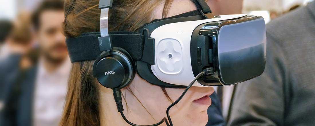 VR testing session
