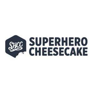 Superhero Cheesecake logo