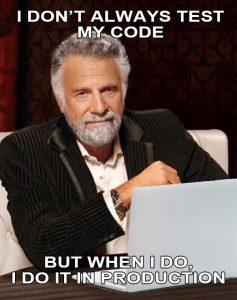 World's most interesting programmer.