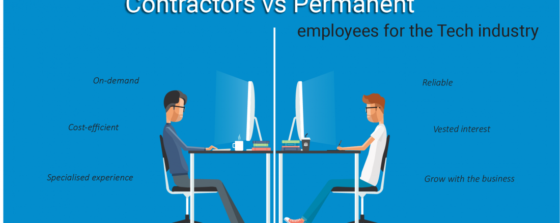 The differences between hiring contract vs permanent employees