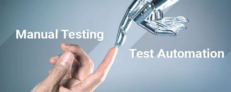 Manual testing versus test automation