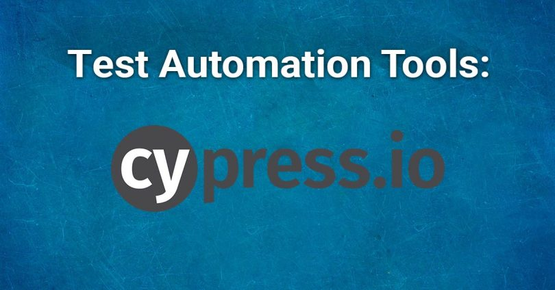 Test Automation Tools: Cypress io | spriteCloud