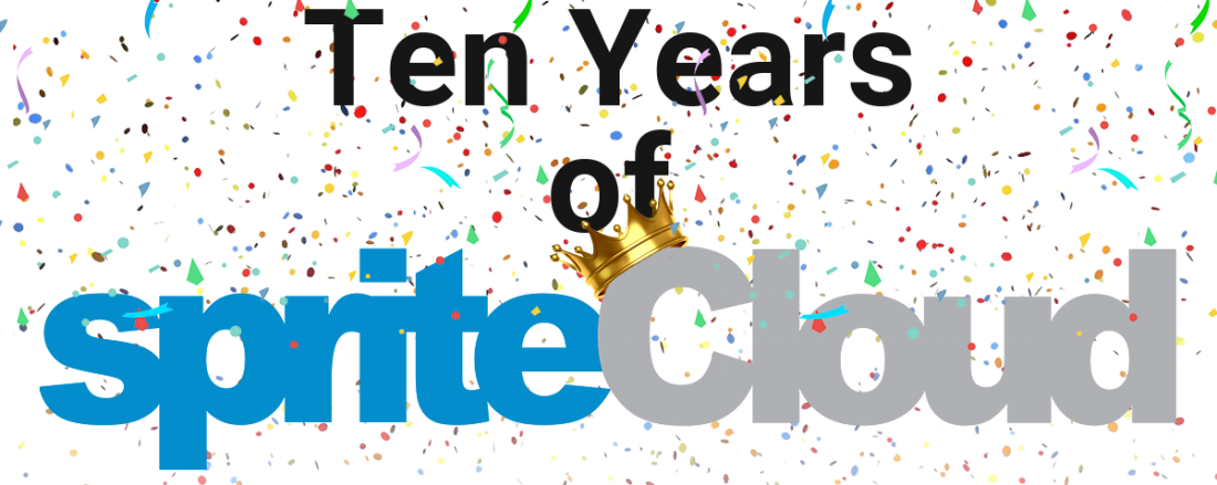 spriteCloud just turned 10 years old!