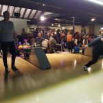 spriteCloud hits the bowling lanes.