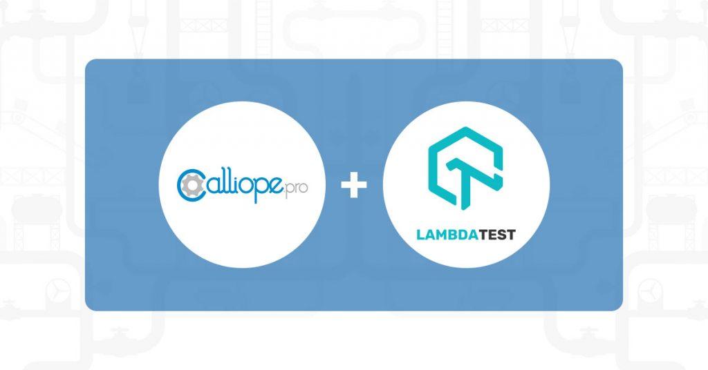 LambdaTest and Calliope.pro team up