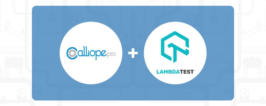 LambdaTest and Calliope.pro team up