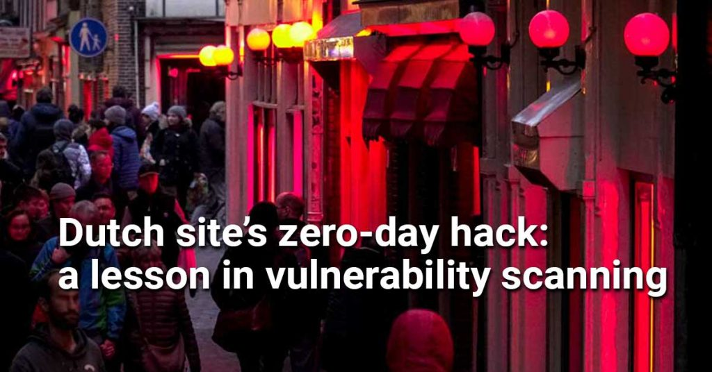 The hack of the Dutch site, hookers.nl, provides a valuable lesson on cybersecurity.