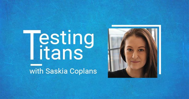 Testing Titans: Saskia Coplans