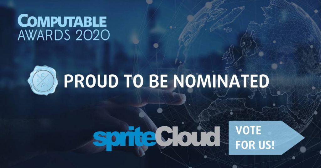 Noimated for the Computable Awards 2020