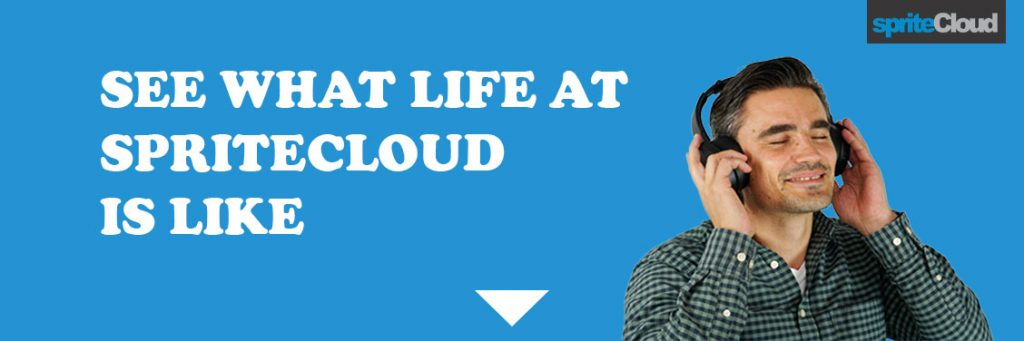 See what life is like at spriteCloud.