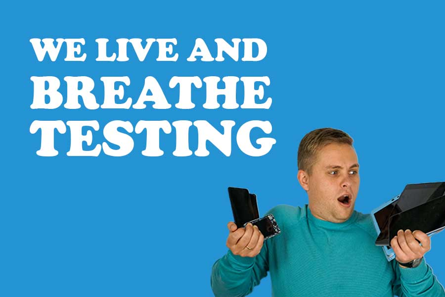 At spriteCloud, we live and breathe testing.