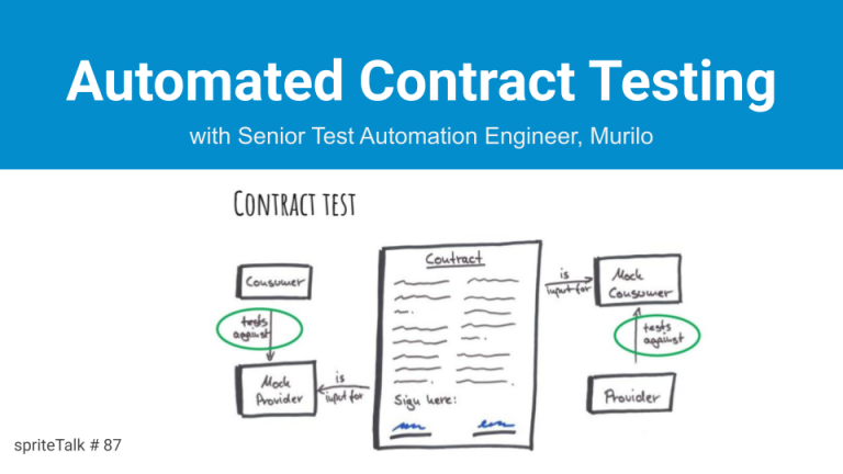 Automated Contract Testing presentation