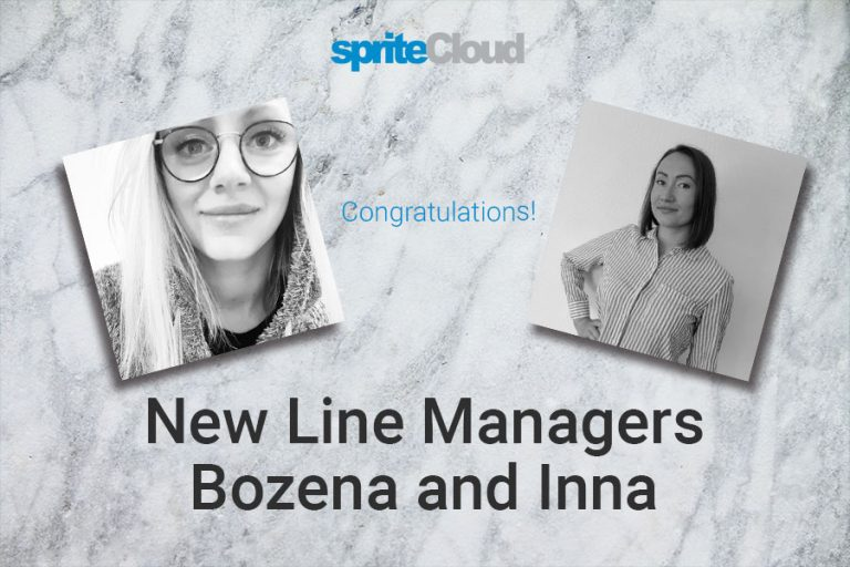 New Line Managers Bozena and Inna