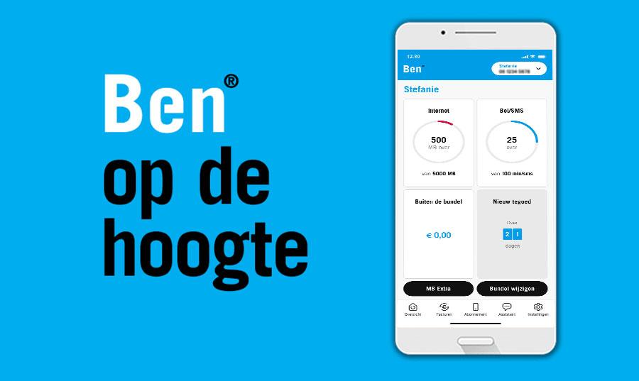 The Ben mobile app